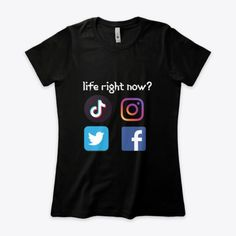 Statement shirts, new normal's social life. click on the link for more colors, styles and designs. Order yours now. ♥