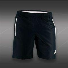 Lotto Lob Short - Navy/White Mens Tennis Clothing, Tennis Shirts, Tennis Clothes, Lob, Navy And White, Shopping, Fashion, Moda, The Lob