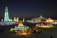 Information Hub Of Besties.: Ana Amazing Ice Town In China