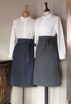 I adore this company ... hand-made clothes in the UK, calling upon traditional British work wear. It's amazing.