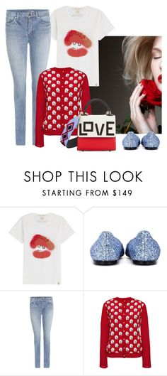 """""""LOVE"""" by cherieaustin on Polyvore featuring Marc Jacobs, Jimmy Choo, Yves Saint Laurent, MSGM and Les Petits Joueurs"""