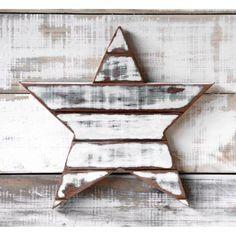 Estrella Madera   Blanca - $ 550,00