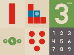 Kleuters digitaal! Inleiding tot wiskunde - Leer getallen en cijfers - Kleuters digitaal! Maria Montessori, Bar Chart, Diagram
