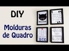 DIY Parede de Quadrinhos por menos de 5 REAIS! - YouTube