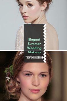 Elegant Summer Wedding Makeup Tips and Ideas #makeup Summer Wedding Makeup, Wedding Makeup For Brown Eyes, Wedding Makeup Tips, Wedding Looks, Wedding Make Up, Wedding Ideas, Makeup Inspiration, Makeup Ideas, Quick Makeup