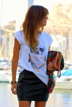 T- Shirts and Skirts