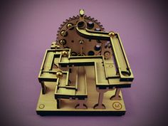Marble Machine Kit - Electric Mainboard no.1 Marble Machine, Kinetic Art, Arduino, Marble Runs, Kit, Laser, Projects, Electric, Money