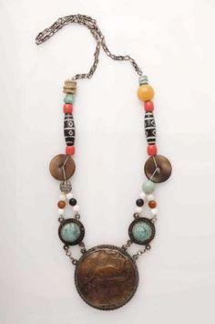 Mongolian Goddess Necklace
