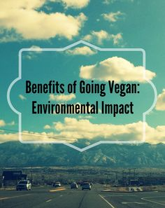 Benefits of Going #Vegan: Part 3 – Your Ecological Footprint | Homemade Levity