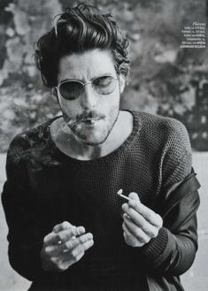 there's something about him....Louis Garrel