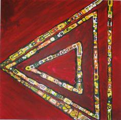 """""""Love Triangle"""" Artist, Licha DeLaPeña"""