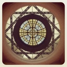 A ceiling at the Auckland Museum