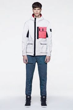 e721915f7 Stone Island's 2017 Spring/Summer Collection Channels Military and  Sportswear Aesthetics