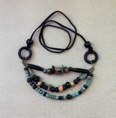 Tribal multistrand Animal Bone and Horn by PebbleCreekBoutique, $32.00