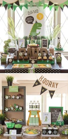 Dinosaur Party Decorations, Dinosaur Birthday, Trex, Your Custom Photo, Party Collection, Party Kit