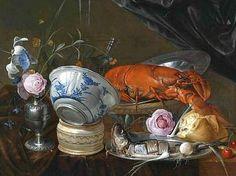 Jan Davidsz. de Heem  Still Life with Lobster  17th century