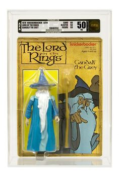 The Lord of the Ring action figures from 1978 - Gandalf The Grey