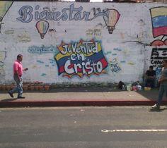 El mural que da vida a la Avenida Bolívar de Valera