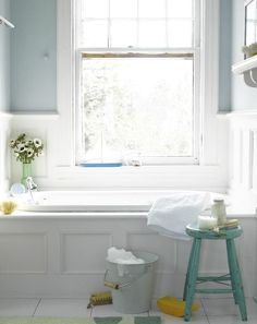 Light blue paint for guest bath upstairs