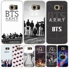 BTS Bangtan Army young forever cell phone case cover for Samsung Galaxy S7 edge PLUS S8 S6 S5 S4 S3 MINI