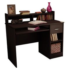 South Shore Axess Computer Desk with Keyboard Drawer   AllModern