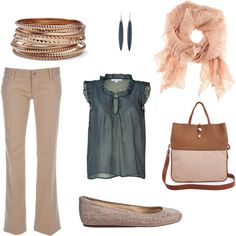 Summer Work Outfit, created by kgentert on Polyvore. Kind of into this.