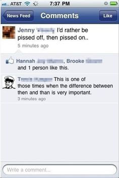 """A Series of Unfortunate Spelling Errors - """"then"""" vs. """"than"""""""