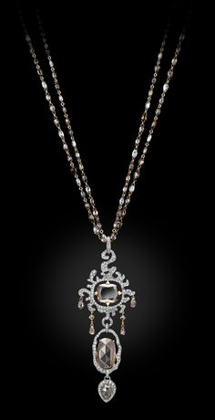 Diamond Flourish Necklace by Carnet- Michelle Ong
