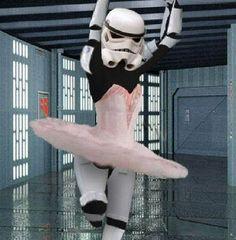 See, anybody can dance!