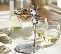 Seahorse Snack Bowl | Pottery Barn