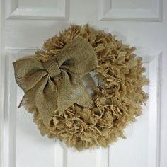 https://www.etsy.com/listing/177503673/handmade-burlap-rag-wreath-16-natural