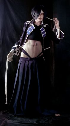BRAVE 10 Unno Rokuro cosplay by http://akitozz6.deviantart.com/