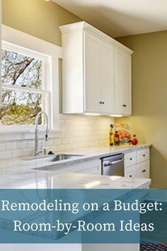 Renovating on a budget? Check out these room-by-room ideas to help you save money on your home remodel. #homeimprovement #diy #budgetdemodel #homerenovation Stone Siding Panels, Faux Stone Panels, Home Renovation, Home Remodeling, Kitchen Reno, Kitchen Cabinets, Faux Walls, House Siding, Cladding