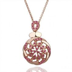 Medallion 18 Karat Gold Plated Necklace