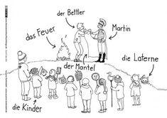 Durch das Jahr - Sankt Martin Martinsfeuer - Kuhlendahl St Martin, Religion, How To Plan, School, Nap, Lesson Planning, Autumn, France, German Language