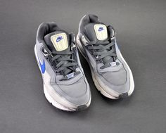 e35e7cf42be Nike Air Max Cool Grey Deep Royal Blue Grey Size 11 EUR 45 for sale online