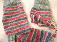 Maureen's Fat Quarter Socks in Friendship Square!