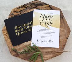 Crushing on the hand lettered Claire Suite this lovely Tuesday afternoon...Because sometimes faux gold can be gorgeous too!  [ :@kimbroughdaniels ] [ :@amandaarneill ]