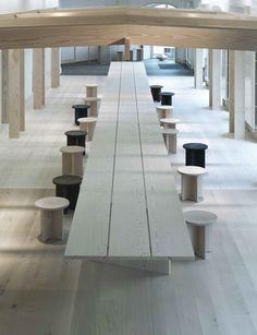A Merry Mishap / Dinesen showroom  // #Architecture, #Design, #HomeDecor, #InteriorDesign, #Style