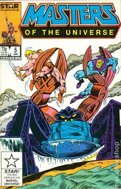 Masters of the Universe (1986 2nd Series Marvel/Star Comics) 5