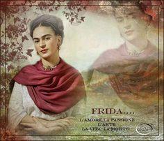Frida Kahlo, l'artsta cge seppe nascondere la tristezza Per l'intera esistenza porterà con sé un dolore continuo e lacerante ma nonostante le trentadue operazioni, Frida Kahlo inneggerà alla vita con quella allegria che ha sempre ostentato in pubblico per #aster #dipinto #dolore #emozioni #frida