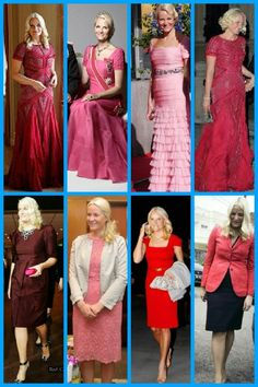 royalsandquotes:  Royal Ladies in RED (and pink) - Crown Princess Mette-Marit of Norway