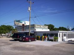 The Seven Mile Grill, just at the opening of the bridge enter the Florida Keys.  Don't let the meager facade fool you...the BEST grilled grouper I've ever had!    1240 Overseas Highway, Marathon, FL (305) 743-4481       ‎