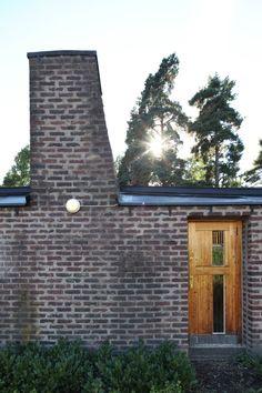 A&EB Sigurd Lewerentz > Sankt Markus, Stockholm Brickwork, Stockholm, Entrance, Construction, Traditional, Landscape, House Styles, Places, Outdoor Decor