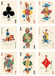 folio society playing cards - Jonathan Burton