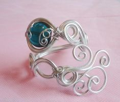 Wire Wrapped Arm Bangle