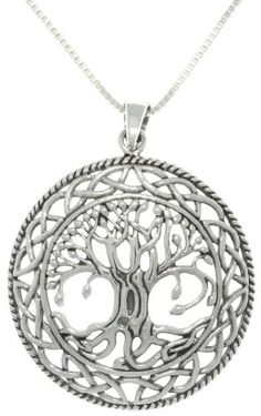 Jewelry Trends Sterling Silver Celtic Tree of Life Pendant with 18 Inch Box Chain Necklace Carolina Glamour Collection http://www.amazon.com/dp/B00DTX45MY/ref=cm_sw_r_pi_dp_ZpESwb1GRA44W