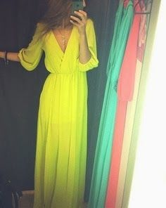 Loose, long-sleeved maxi, love it in another color