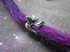Dragon Head dread bead set for small locs by lotusfairy on Etsy, $2.50