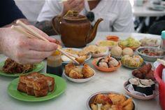 A dim sum breakfast in #Penang, #Malaysia.